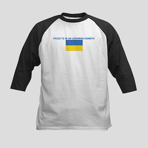 PROUD TO BE AN UKRAINIAN GRAN Kids Baseball Jersey