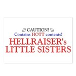 HELLRAISER's LITTLE SISTERS Postcards (Pack of 8)
