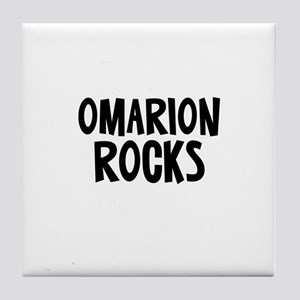 Omarion Rocks Tile Coaster
