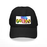 Official American Bocce Club Black Cap