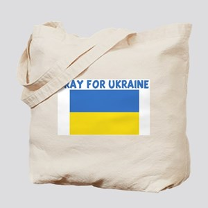 PRAY FOR UKRAINE Tote Bag