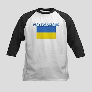 PRAY FOR UKRAINE Kids Baseball Jersey
