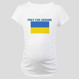 PRAY FOR UKRAINE Maternity T-Shirt
