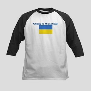 MARRIED TO AN UKRAINIAN Kids Baseball Jersey