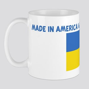 MADE IN AMERICA WITH UKRAINIA Mug