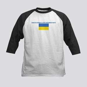 MADE IN AMERICA WITH UKRAINIA Kids Baseball Jersey