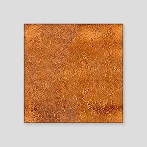 Cool Copper Look Techno Text Sticker