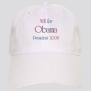 Will for Obama 2008 Cap