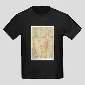 Vintage Map of Madagascar (1896) T-Shirt