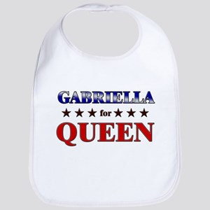 GABRIELLA for queen Bib