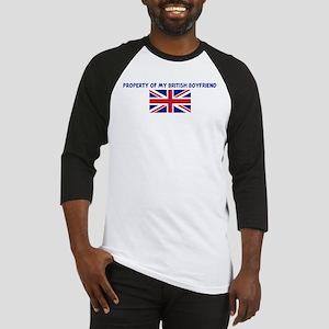 PROPERTY OF MY BRITISH BOYFRI Baseball Jersey