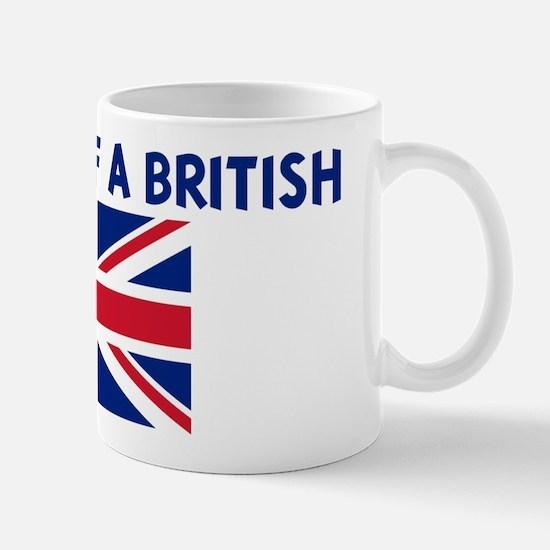 PROPERTY OF A BRITISH Mug
