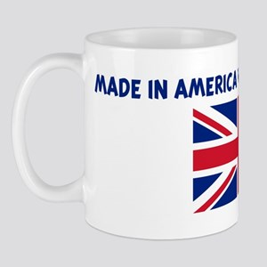 MADE IN AMERICA WITH BRITISH  Mug