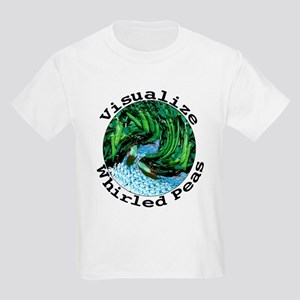 Visualize Whirled Peas Kids Light T-Shirt