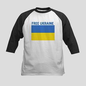 FREE UKRAINE Kids Baseball Jersey