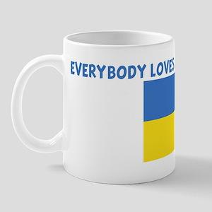EVERYBODY LOVES AN UKRAINIAN  Mug