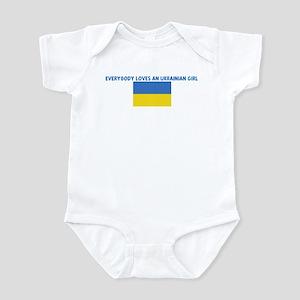EVERYBODY LOVES AN UKRAINIAN  Infant Bodysuit