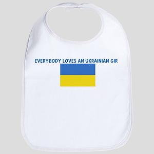EVERYBODY LOVES AN UKRAINIAN  Bib
