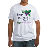 St. Urho's Day Fitted T-Shirt
