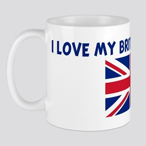 I LOVE MY BRITISH BOYFRIEND Mug