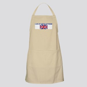 I LOVE MY BRITISH BOYFRIEND BBQ Apron
