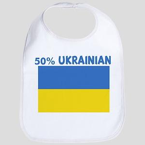 50 PERCENT UKRAINIAN Bib