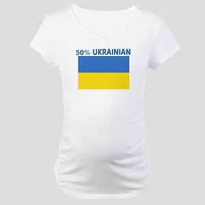 50 PERCENT UKRAINIAN Maternity T-Shirt