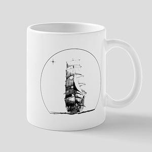 Tall Ship and Star Mug