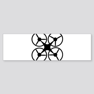 drone Bumper Sticker