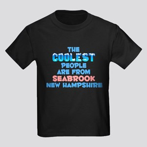 Coolest: Seabrook, NH Kids Dark T-Shirt