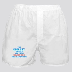 Coolest: Seabrook, NH Boxer Shorts