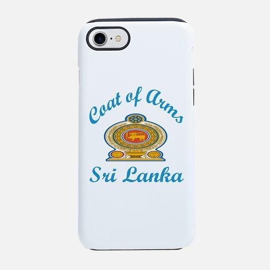 Cat Of Arms Sri Lanka Countr iPhone 8/7 Tough Case