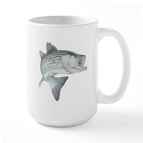 Lunker's Stripe Bass Large Mug