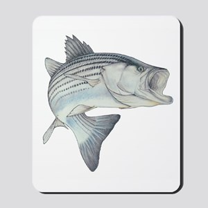Lunker's Stripe Bass Mousepad