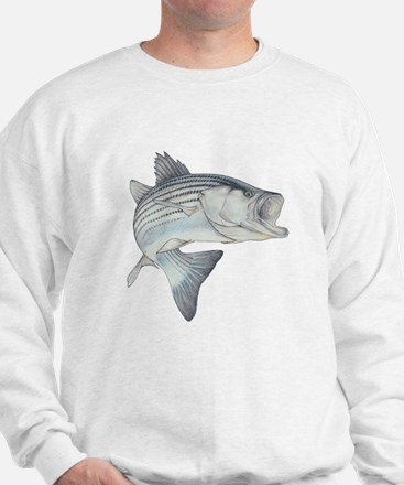 Lunker's Stripe Bass Sweatshirt