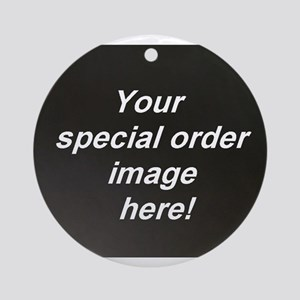 Special Orders Ornament (Round)
