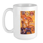 Ransavage Art Large Mug