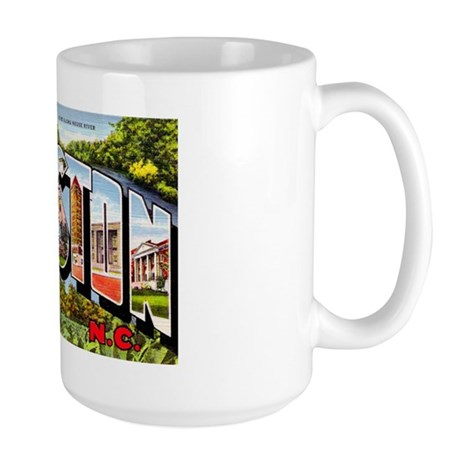 Kinston North Carolina Greetings Large Mug