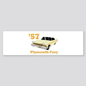 Chrysler Mopar '57 Plymouth F Bumper Sticker
