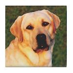 Yellow Labrador Retriever Tile Coaster