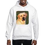 Yellow Labrador Retriever Hooded Sweatshirt