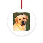 Yellow Labrador Retriever Keepsake (Round)