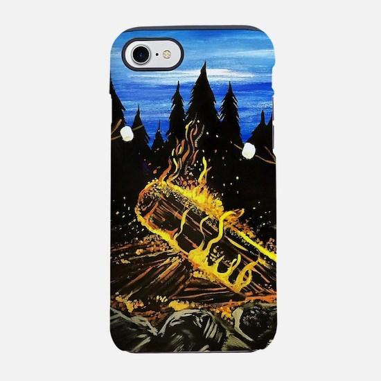 Camp Fire iPhone 8/7 Tough Case