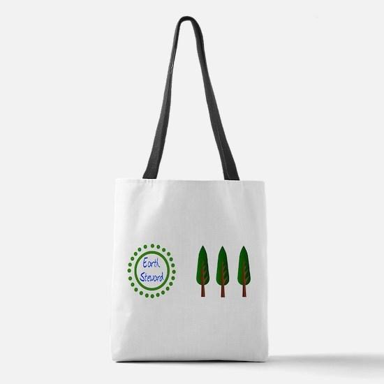 Earth Steward Polyester Tote Bag