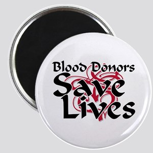 Blood Donors Save Lives Magnet