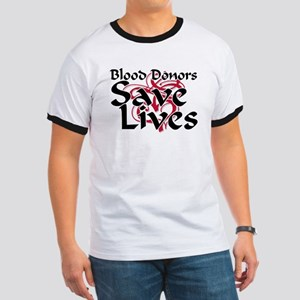 Blood Donors Save Lives Ringer T