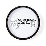 Furry Children Wall Clock