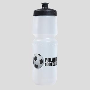 Poland Football Sports Bottle