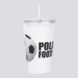 Poland Football Acrylic Double-wall Tumbler