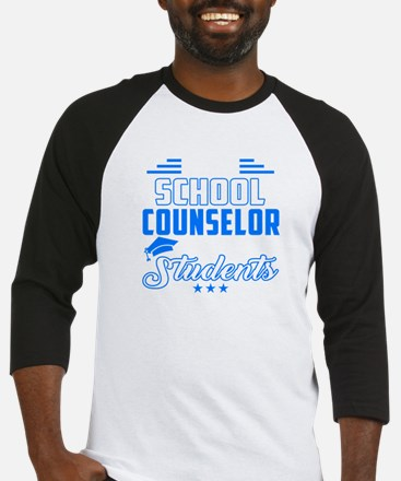 Has Awesome School Counselor Baseball Jersey